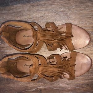 American Eagle Outfitters Shoes - Fringe Sandals